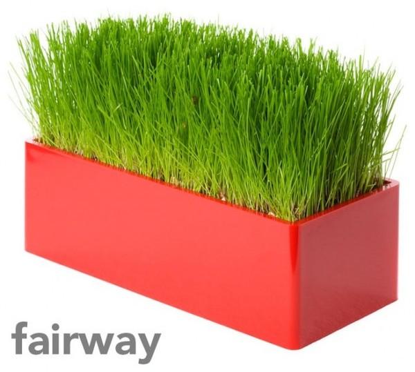 Как сделать горшок с искусственной травой 168