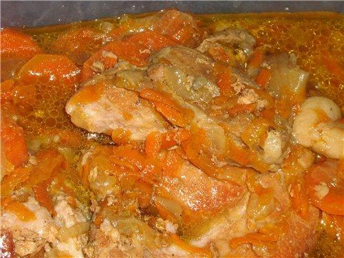Рецепты из свинины в мультиварке на второе с фото