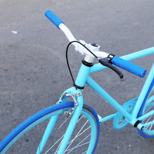 Как сделать ручной тормоз на велосипеде