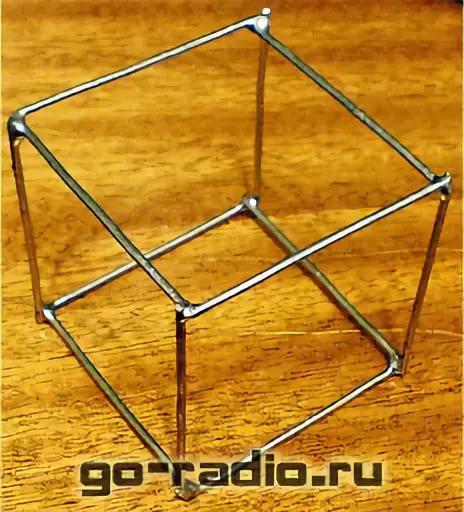 Как сделать каркас квадрата 540