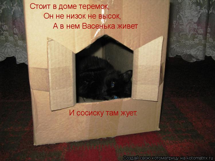 Как сделать дом для кошки из коробки своими руками