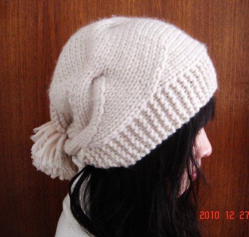 Вязание спицами интересные шапки