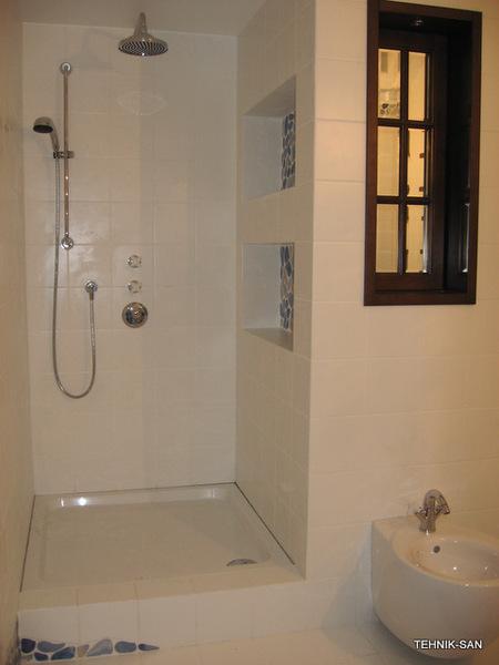 Душевая кабинка своими руками в ванной