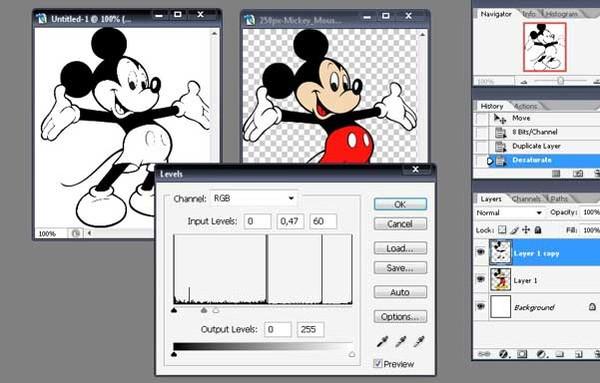 Как в фотошопе сделать раскраску - Как сделать раскраску из фотографии Простые фокусы