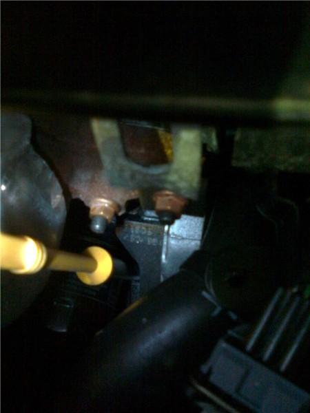Где у шевроле круз находится номер двигателя