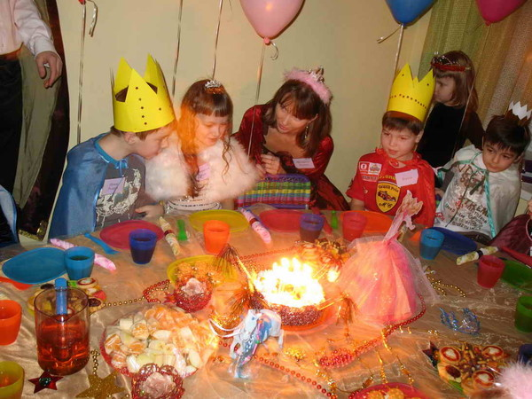 Сценарий дня рождения фото