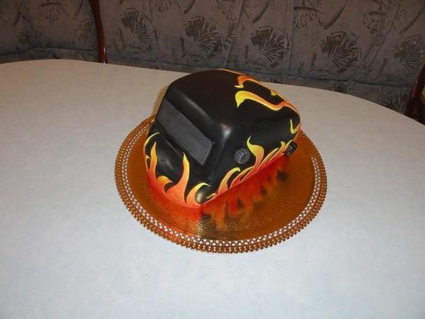 Торт сварщику на день рождения