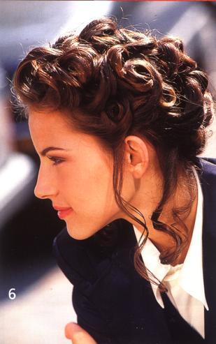 Прически на длинные волосы на каждый день фото.  Прическа с локонами.