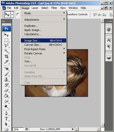 Как сделать фотографию нужного размера в фотошопе