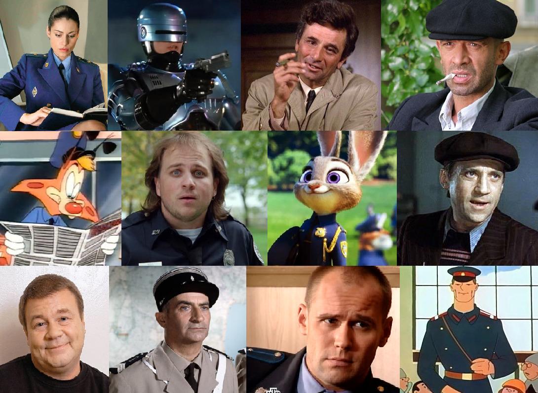 Российские сериалы о полиции 2018