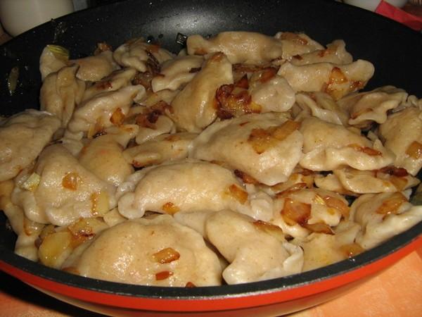 Тесто для вареников на кипятке рецепт с пошагово