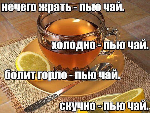 пьём чай в любое время