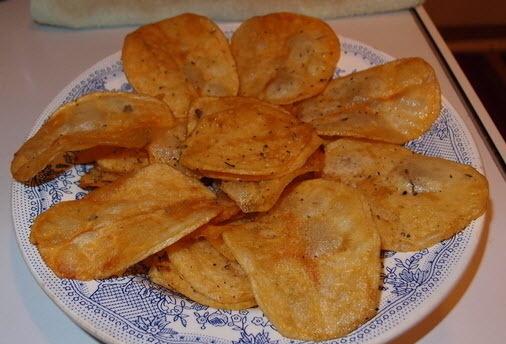 Рецепты чипсов в домашних условиях в духовке с фото