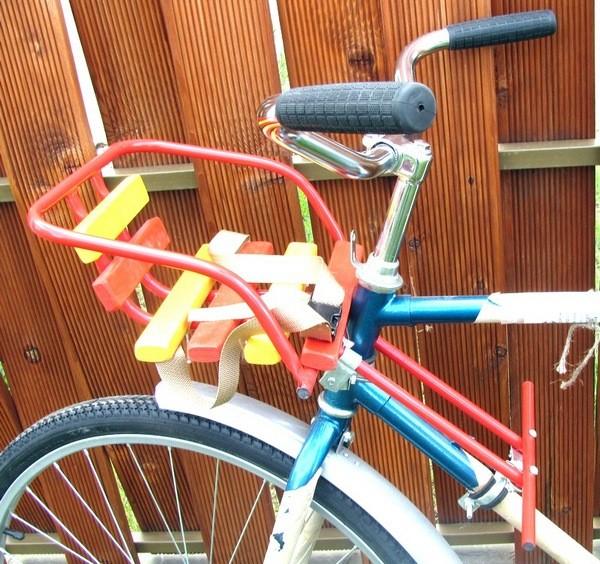 Сиденье для детей на велосипед своими руками