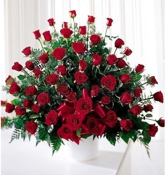Поздравления с букетами цветов 466