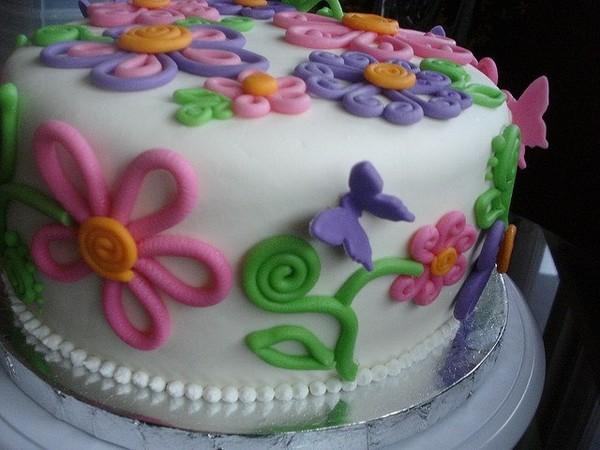 Торт с мастикой своими руками рецепт с фото