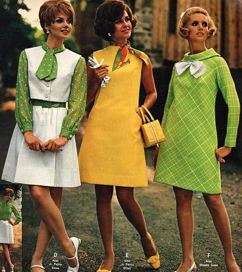 Стиль 5060х снова в моде модные пышные платья