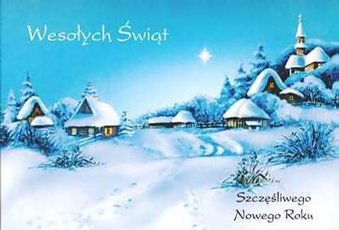 Поздравление по-польски с рождеством