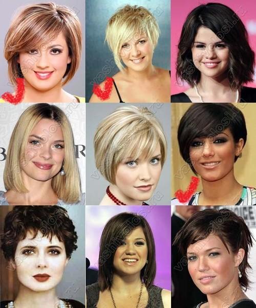 Стрижки на круглое лицо какие подойдут короткие волосы