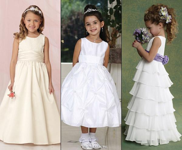 Платье для девочек на новый год фото