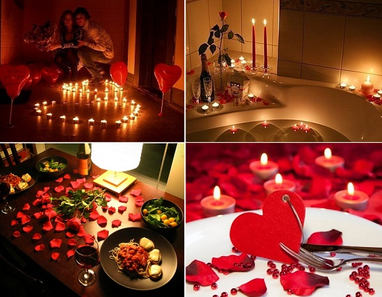 Романтический вечер любимому своими руками
