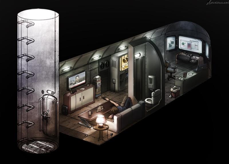 Ответы@Mail.Ru: Как идея сделать бункер на случай войны?