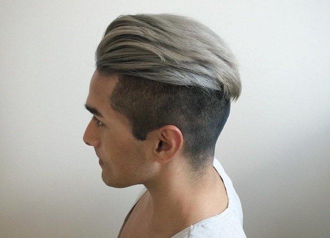 Волосы пепельного цвета у парней