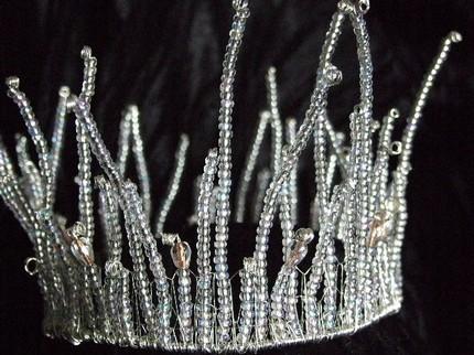 Сделать корону снежной королевы своими руками из