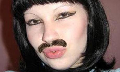 Я девушка у меня растут усы что мне делать