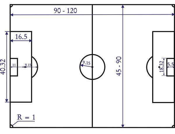 Как самому сделать машинку для разметки футбольного поля
