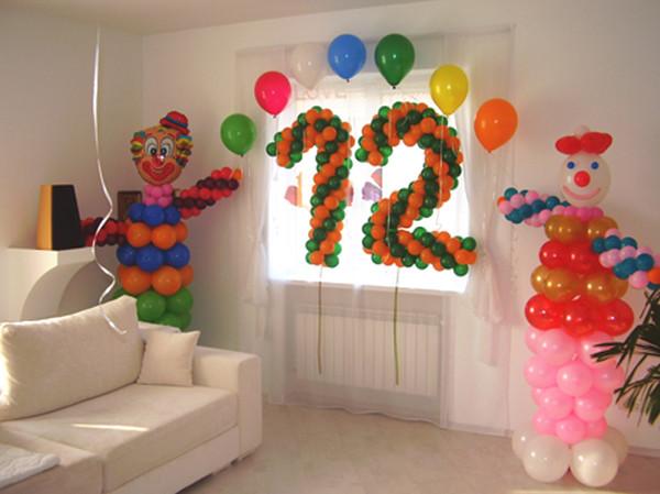 Как украсить комнату на день рождения 11 лет своими руками