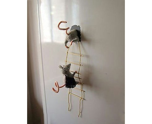 Прикольный магнит на холодильник своими руками