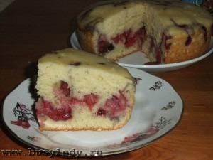 Пирог из кефира с ягодами в мультиварке рецепты с