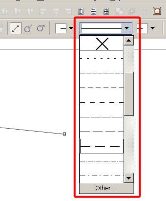 Как сделать линию пунктирной в ворде