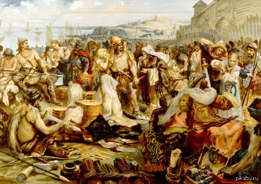 Южные племена древних славян.