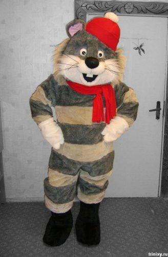 Новогодний костюм кота матроскина своими руками