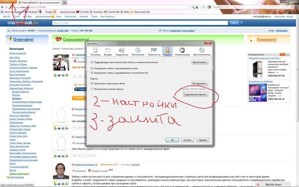 Где в компьютере находятся пароли вконтакте