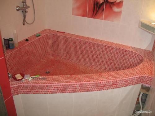 Как сделать ванную в плитку