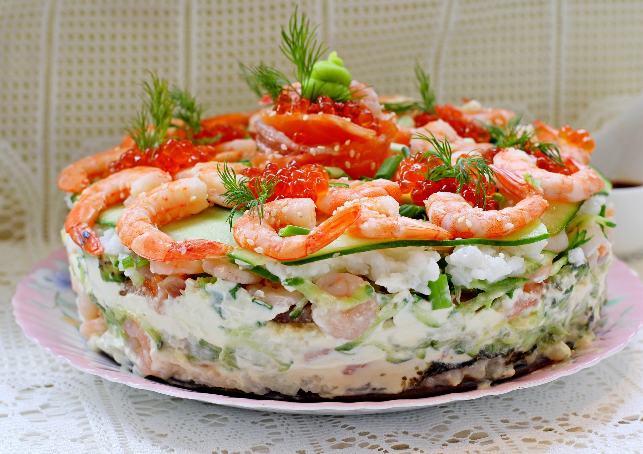 Торты и салаты с и рецептами