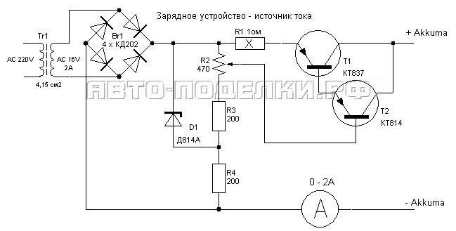 Зарядное устройство своими руками с регулятором тока