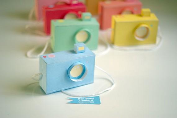 Как сделать фотоаппарат из спичечного коробка для детей