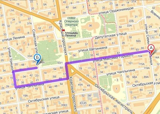 Где находится новосибирская улица