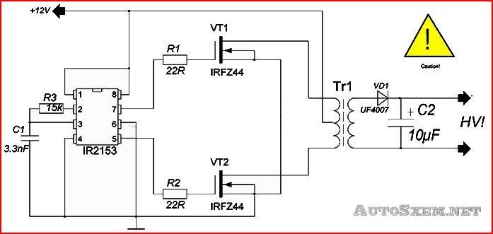 Автомобильные инверторы напряжения 12-220 вольт 3-5 квт своими руками