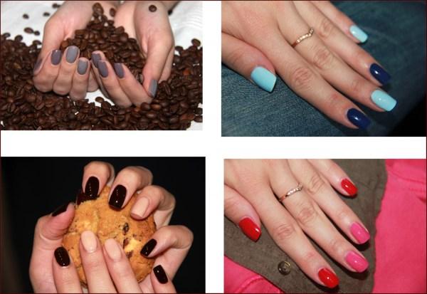 На каких других ногтях красить другим цветом