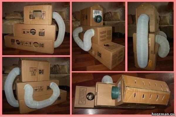 Как сделать домик для хомяков из коробок 52