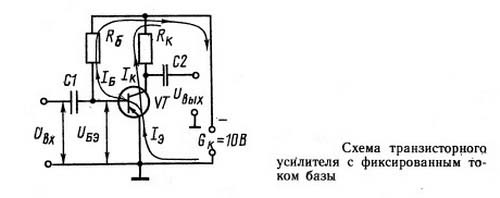 Как работает транзистор в схеме усилителя