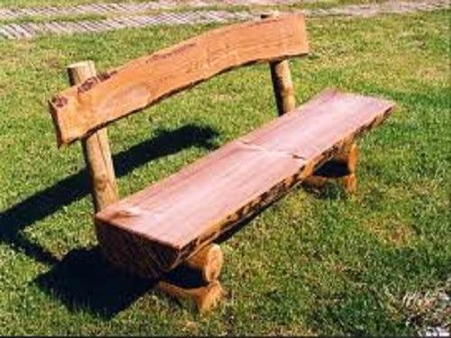 Красивая скамейка из дерева своими руками 388
