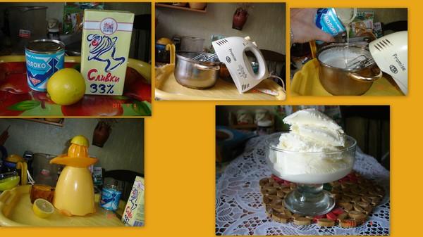 Как сделать самому мороженое