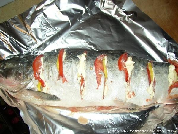 Рыба кижуч в духовке рецепты с фото