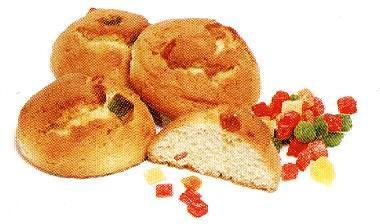 Творожное печенье с цукатами рецепт